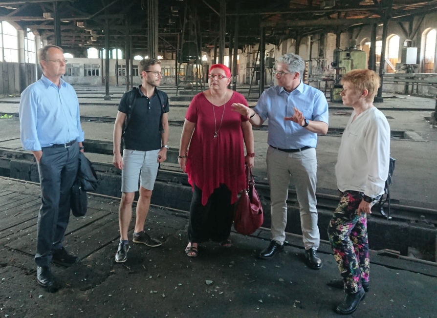Besuch der Vizepräsidentin des Deutschen Bundestages