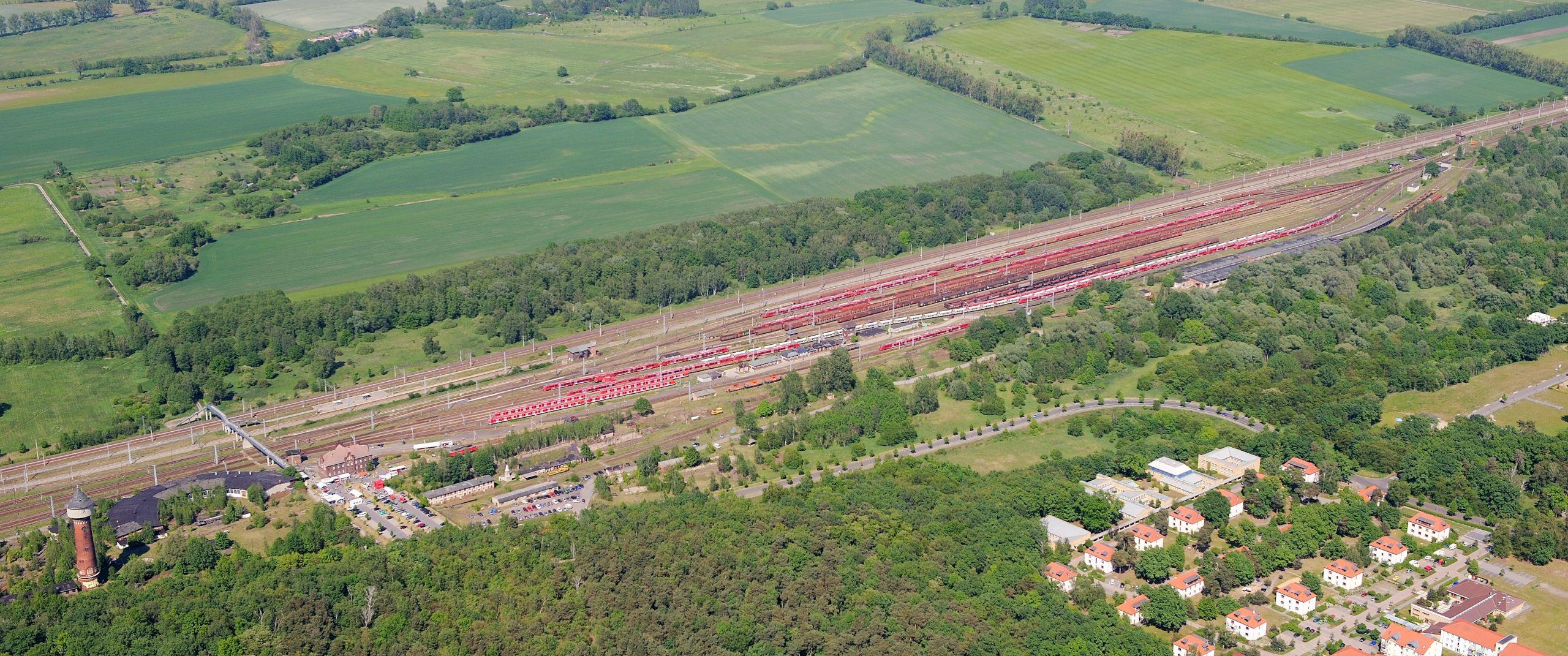 Die neue Service- und Wartungshalle der RWS Railway Service GmbH