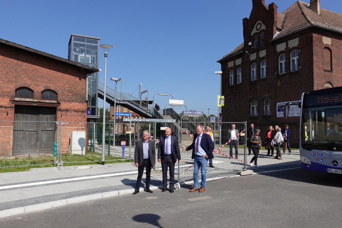 vl. Andreas Guttschau, Roger Lewandowski, Holger Schreiber