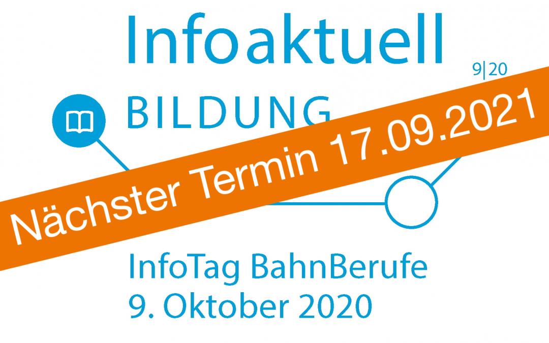 InfoTag BahnBerufe 09.10.2020