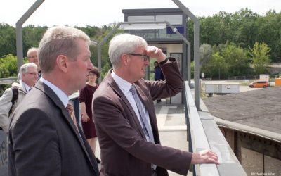 Arbeitsbesuch Minister Guido Beermann
